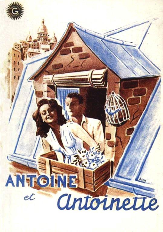 Affiche Antoine et Antoinette