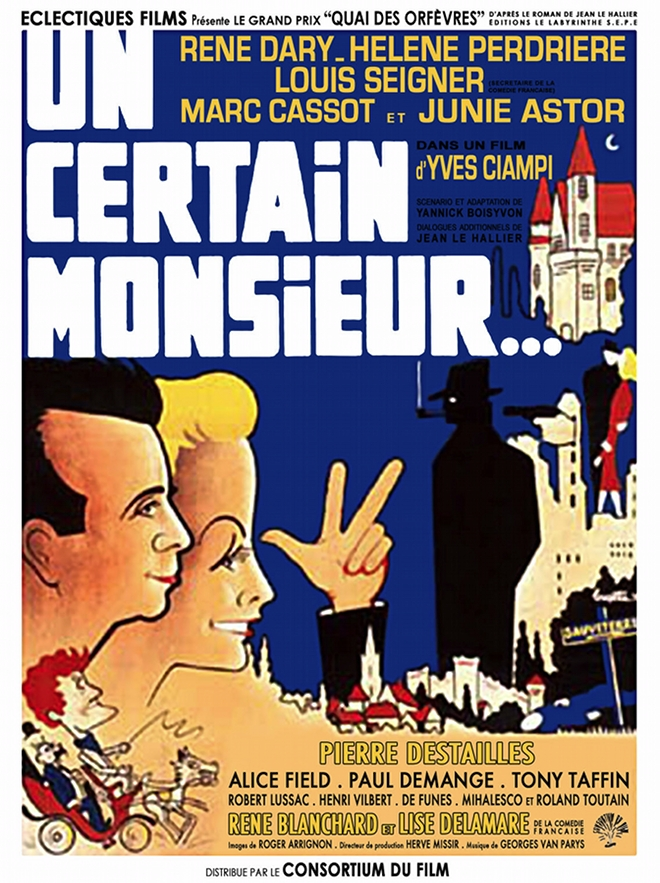 Affiche Un certain Monsieur