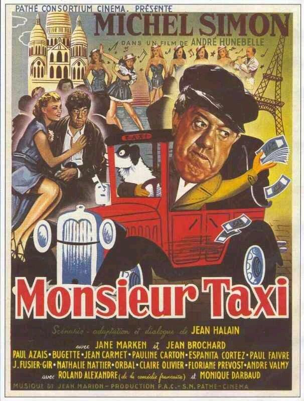 Affiche Monsieur Taxi