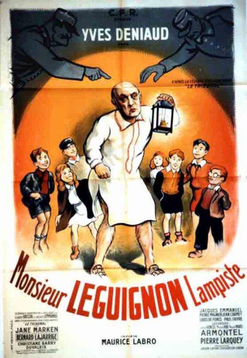 Affiche Monsieur Leguignon Lampiste