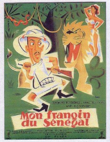 Affiche Mon frangin du Sénégal