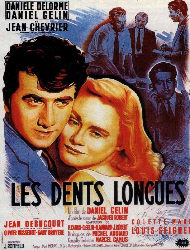 Affiche Les Dents Longues
