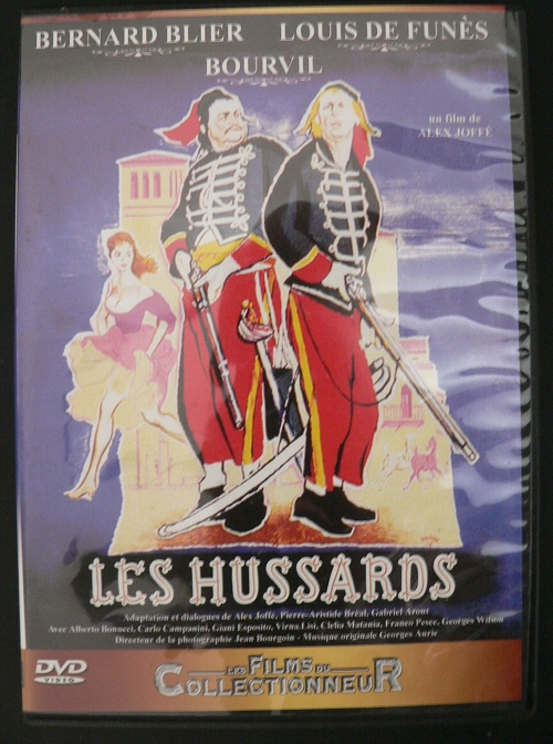 DVD Les Hussards