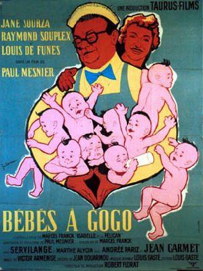 Affiche Bébés à Gogo