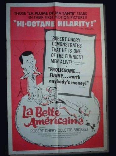 La Belle américaine, affiche...américaine