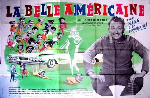 Affiche La belle américaine