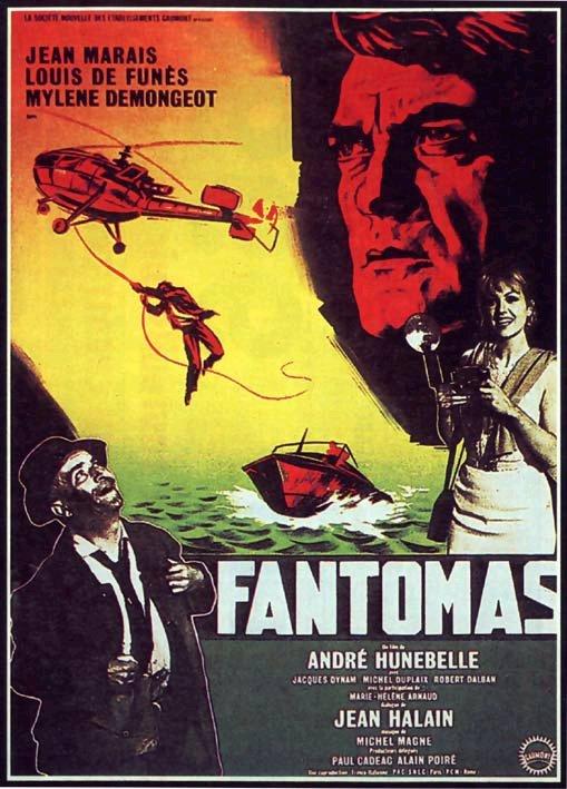 Affiche Fantomas