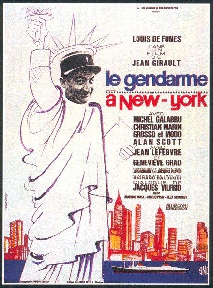 Affiche Le gendarme à New York