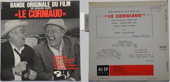 45 tours Le Corniaud
