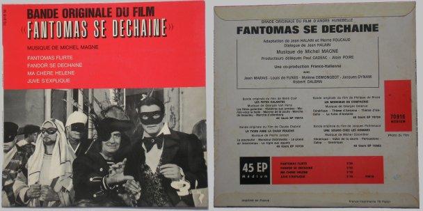 45 tours Fantomas se déchaine
