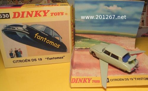 DS Fantomas Dinky Toys