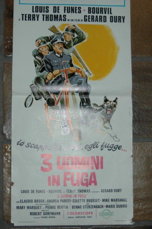 3 Uomini in Fuga, manchette