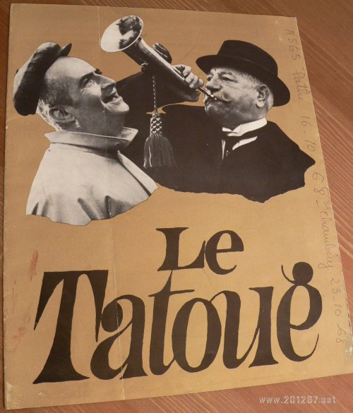Tatoué (Le) – Document d'exploitation