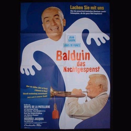Balduin das Nachtgespenst, Affiche allemande Le Tatoué