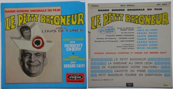 45 tours Le Petit Baigneur