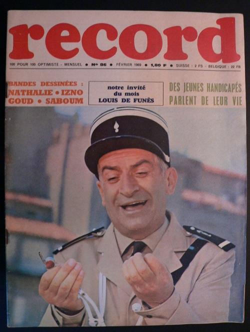 Louis de Funès, magazine Record