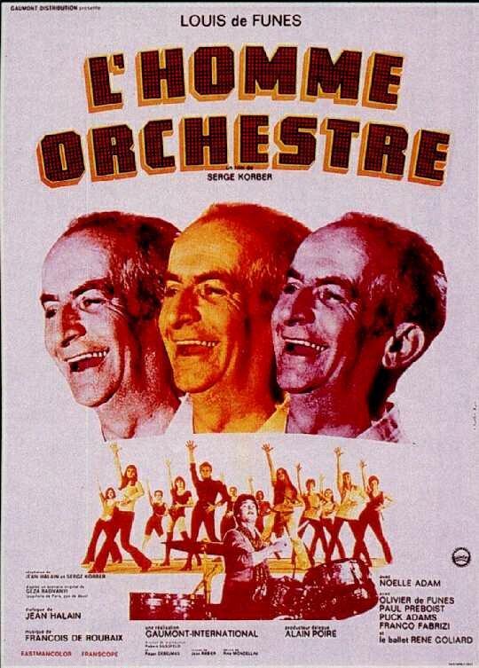 Affiche L'Homme Orchestre