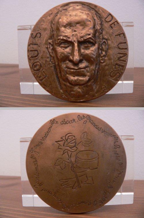 Médaille Louis de Funès