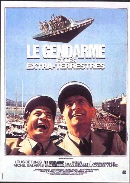 Affiche Le Gendarme et les extra-terrestre
