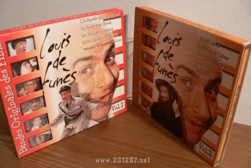 CD Bandes Originales des Films Vol. 1 & 2