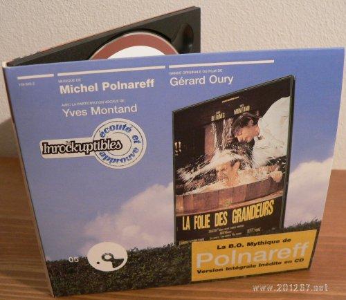 CD La Folie des Grandeurs