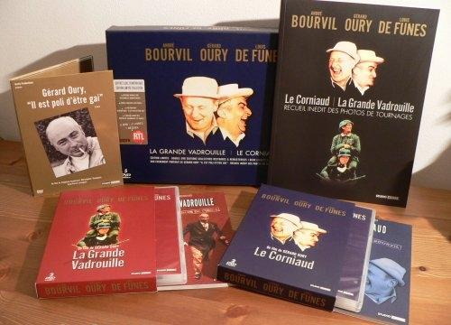 Coffret Collector Grande Vadrouille & Corniaud