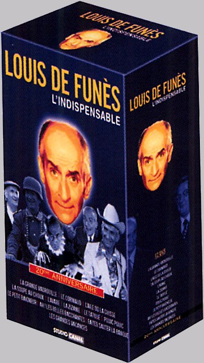 Louis de Funès, l'indispensable